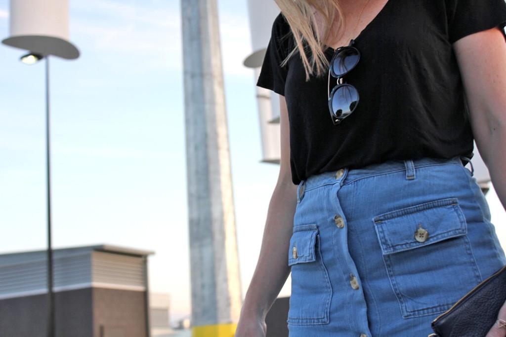 Asos Denim Skirt