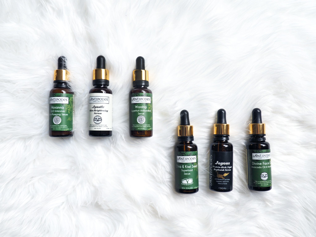 Antipodes Skin Care Oils & Serums