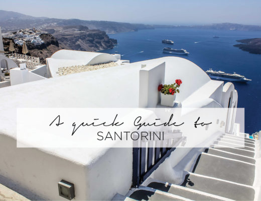 Quick Guide to Santorini