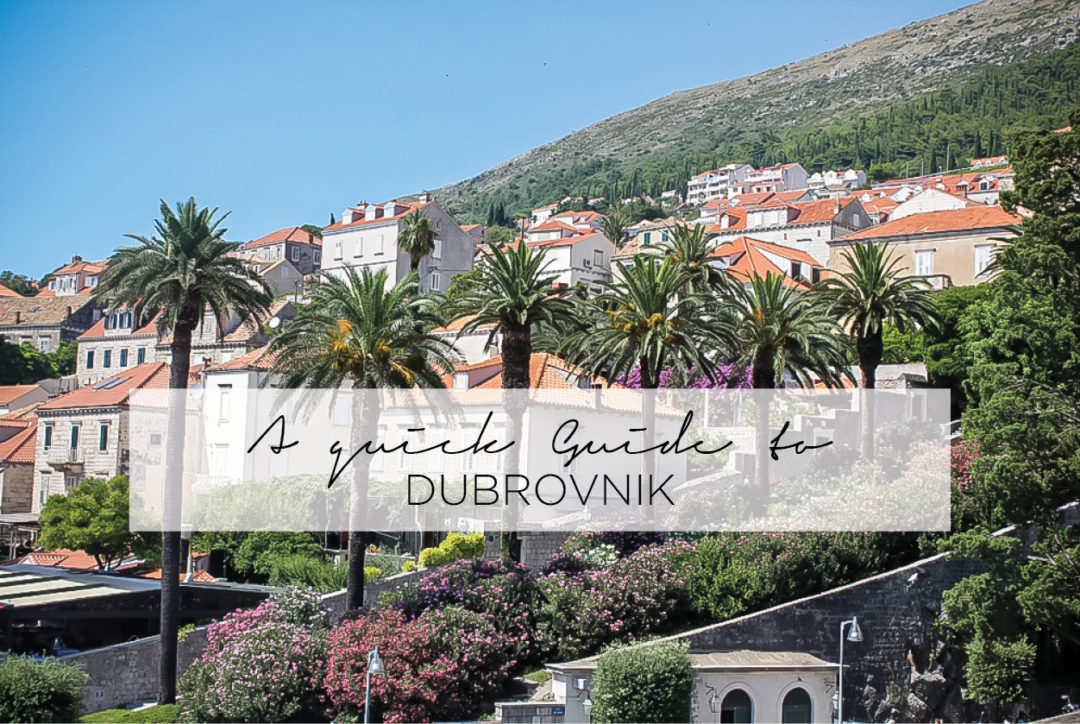 Guide to Dubrovnik Croatia