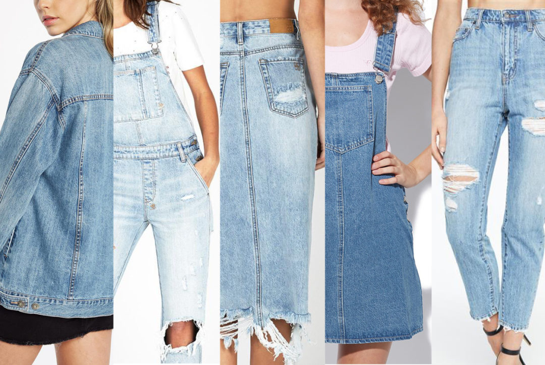 5 essential denim styles