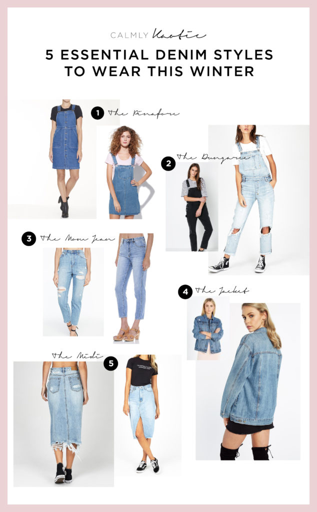 5 Essential Denim Styles to wear this Winter