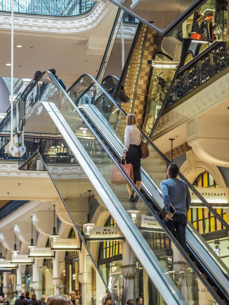 QVB Shopping Sydney
